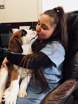 puppy kiss at short pump animal hospital